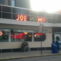 Photo taken at Joe Mama's by Ember on 10/14/2013