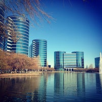 Photo taken at Oracle Conference Center by Paola P. on 1/22/2014