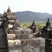 Photo taken at Borobudur Temple by Muhammad M. on 7/4/2013