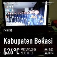 Photo taken at Sekolah Tinggi Transportasi Darat (STTD) by Angga A. on 2/18/2014