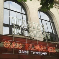Photo taken at Théâtre Marigny by Lali D. on 6/26/2013