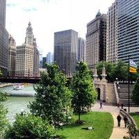 Photo taken at Chicago Riverwalk by Visne K. on 7/27/2013