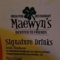 Photo taken at Maewyn's Irish Pub & Restaurant by Katie P. on 7/21/2013