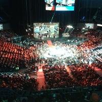 Photo taken at Arena Ciudad de México by Mauricio on 6/17/2013