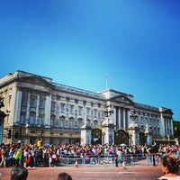 Photo taken at Buckingham Palace by Marcus D. on 8/30/2013