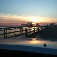 Photo taken at Chesapeake Bay Bridge by Melissa K. on 3/30/2013