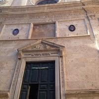 Photo taken at Basilica di Sant'Agostino in Campo Marzio by Kendra L. on 6/18/2013