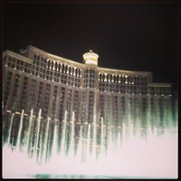 Photo taken at Fountains of Bellagio by Tyler on 3/30/2013