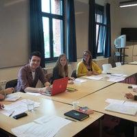 Photo taken at Bestuursgebouw Universiteit Maastricht by Sueli B. on 5/13/2014