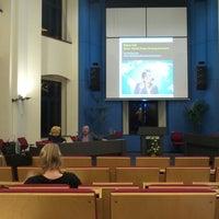 Photo taken at Bestuursgebouw Universiteit Maastricht by Sueli B. on 2/18/2014