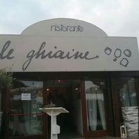Ristorante Le Ghiaine