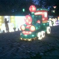 Photo taken at Taman Mini Maerokoco by Laksamana A. on 6/20/2013