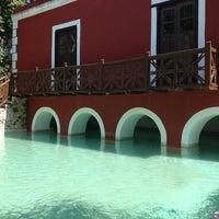 Photo taken at Hacienda Santa Rosa, a Luxury Collection Hotel, Santa Rosa by Vero P. on 4/25/2014