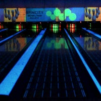 Photo taken at Spincity Bowling Alley by Lisa N. on 3/30/2013