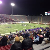 Photo taken at War Memorial Stadium / AT&T Field by Marvin G. on 12/15/2013