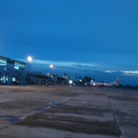 Photo taken at Bandara Jalaluddin (GTO) by Marcelina E. on 10/4/2016