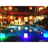 Photo taken at Hotel San Roque by Juan V. on 7/7/2013