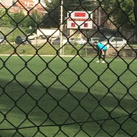 Photo taken at Abdurrahman Temel Futbol Sahası by TC Özcan S. on 5/22/2016