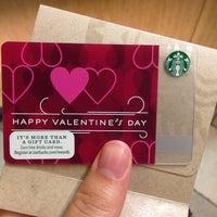 Photo taken at Starbucks by Mei N. on 1/14/2014