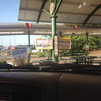 Photo taken at SONIC Drive In by Kayla P. on 6/17/2014