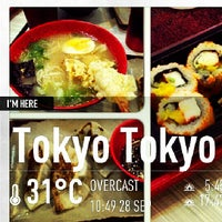 Photo taken at Tokyo Tokyo by Chill G. on 9/28/2013