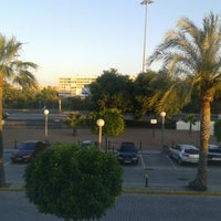 Photo taken at Ibis Hotel Sevilla by Valéria D. on 5/7/2015