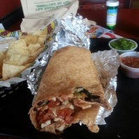 Photo taken at Moe's Southwest Grill by Adam R. on 4/7/2014