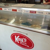 Photo taken at Kay's Ice Cream by T Gregory K. on 1/5/2016