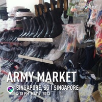 Photo taken at Army Market by shaMsters p. on 5/9/2013