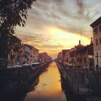 Photo taken at Naviglio Grande by Claudio A. on 10/7/2012
