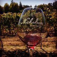 Photo taken at Nicholson Vineyards by Christopher B. on 9/6/2014