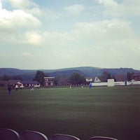 Photo taken at Haslingden Cricket Club by Niall D. on 5/27/2016