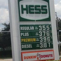 Photo taken at Hess Express by Mister C. on 8/4/2013