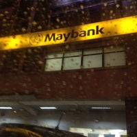 Photo taken at Maybank by Kalidas N. on 12/2/2013