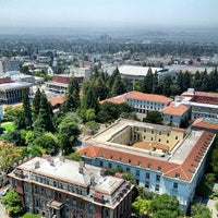 Photo taken at Campanile (Sather Tower) by Josh L. on 7/20/2013