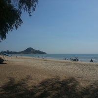 Photo taken at Suan Son Pradipat Beach by Pongsak K. on 5/3/2013
