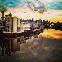 Photo taken at John Byrne-Greenpoint Avenue Bridge by Sadi T. on 6/10/2013