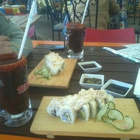 Photo taken at Sushi Tai by Laura C. on 1/16/2014