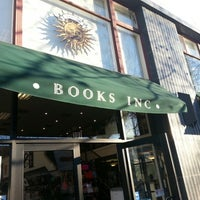 Photo taken at Books Inc. by Thomas L. on 1/31/2013