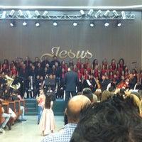 Photo taken at Igreja Batista da Lagoinha by LuckBatera D. on 12/28/2014