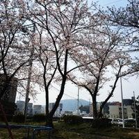 Photo taken at 常三島公園 by yuasanta on 3/31/2016