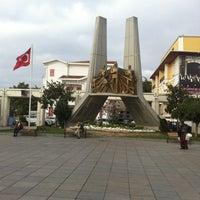 Photo taken at Bakırköy Özgürlük Meydanı by Mehtap A. on 10/25/2013