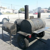 Photo taken at True BBQ by James B. on 9/26/2012