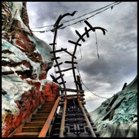Photo taken at Expedition Everest by Jennifer C. on 1/20/2013