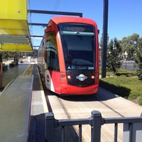 Photo taken at Entertainment Centre Tram Stop by Rayman S. on 3/30/2015