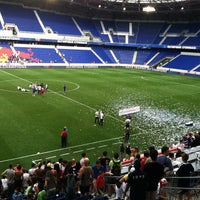 Photo taken at Red Bull Arena by Ian E. on 7/28/2012