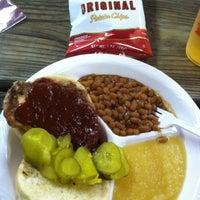 Photo taken at Iowa Pork Tent by Diane P. on 8/19/2011