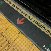 Photo taken at MetrôRio - Estação Uruguaiana by Larissa D. on 4/4/2012