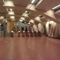Photo taken at 24th St. Mission BART Station by Holden K. on 8/16/2011