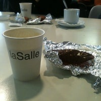 Photo taken at La Salle Cafeteria by Ana B. on 11/19/2011